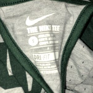 Nike Tops - Nike Michigan state Spartans MSU racer  tank small